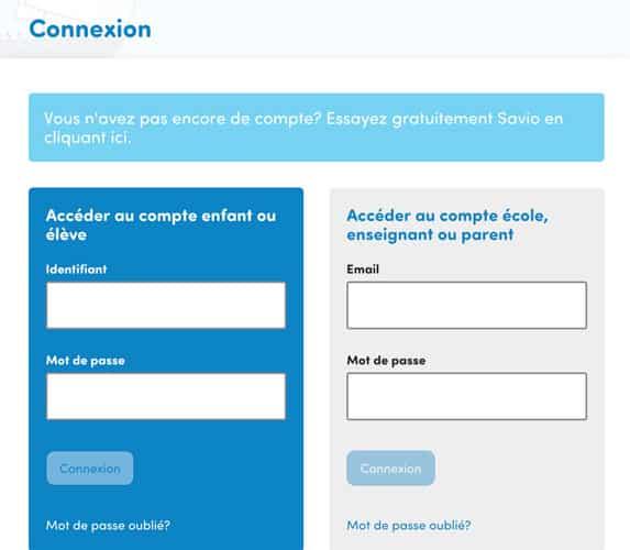 Sur la page de connexion, remplissez alors votre email et mot de passe dans l'encadré gris de droite pour vous connecter.